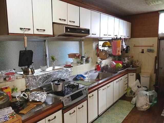 キッチンのリフォーム施工前3