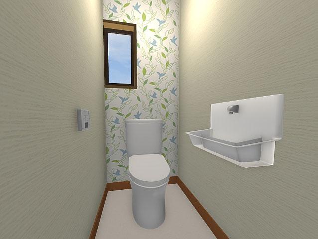トイレのリフォーム3Dパース