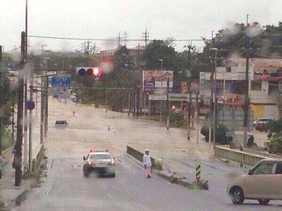 【閲覧注意】 台風8号 衝撃映像