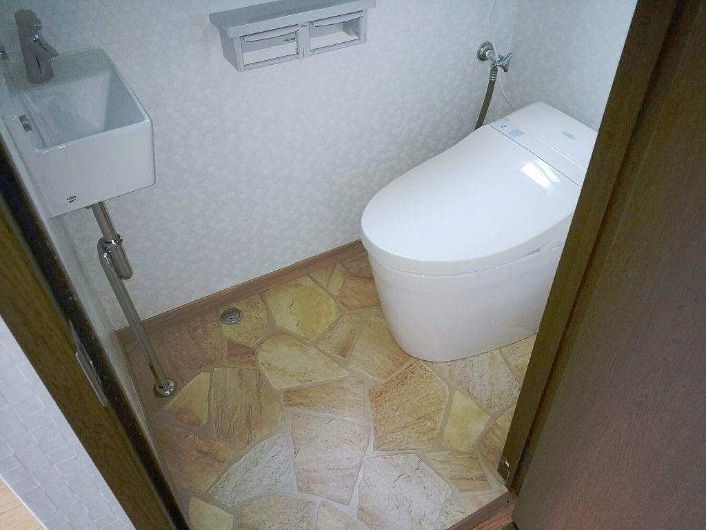 沖縄県宜野湾市 トイレ・玄関リフォーム