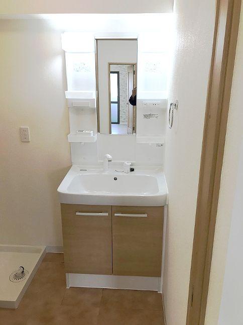 沖縄県浦添市 洗面所・浴室リフォーム