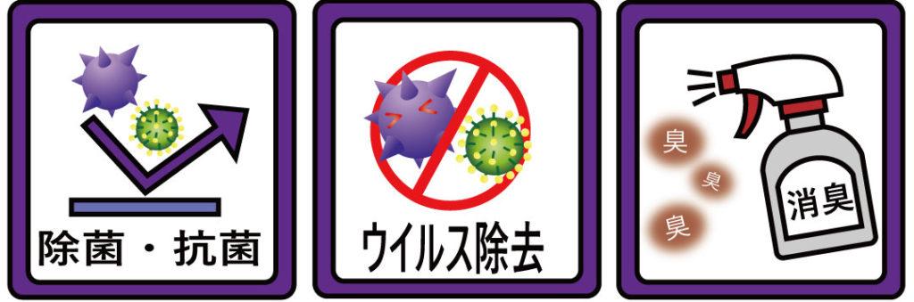除菌抗菌ウイルス対策